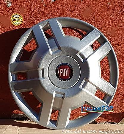 Lot de 4 Enjoliveurs Enjoliveur Boutons Clous de voiture Fiat Dobl/ò Restyling r 14 Logo Rouge Sc 732