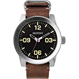 Nixon Corporal A243. 100m Water Resistant XL Men's Watch (48mm Watch Face. 24mm Band)
