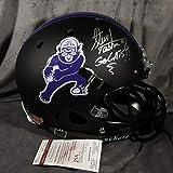 Steve Tasker Autographed Signed Nortwestern Wildcats Full Size Helmet JSA COA Buffalo Bills