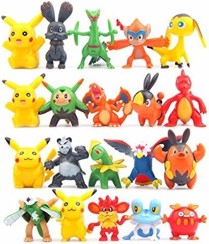 Amazon.com: 25pcs/Set caliente juguetes Pikachu cifras de ...