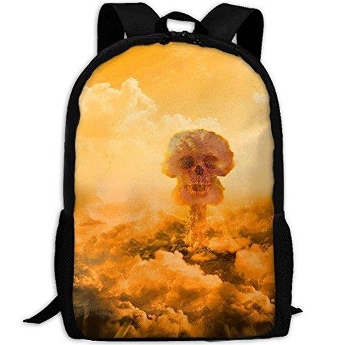 (Webb Backpack Briefcase Laptop Travel Hiking School Bags Blast Skull Stylish Daypacks Shoulder Bag)