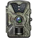 BOBLOV HD 1080P Trail Game Wildlife Camera, 2.4 LCD Deer Hunting Camera for Wild Scouting Digital Surveillance with Waterproof 24pcs Low Glow IR LEDs Night Vision 90° Wide Angle