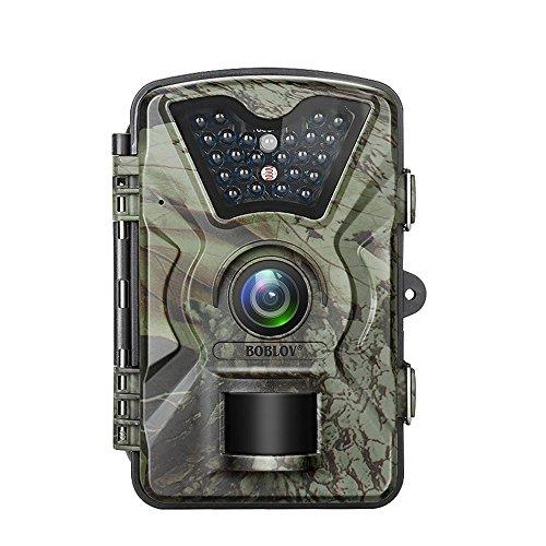 12MP 1080P Trail Game Wildlife Camera, Boblov 2.4