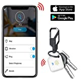 EALNK Bluetooth Key Finder Wallet Phone Locator Lost Item Tracker for IOS/IPhone / Android