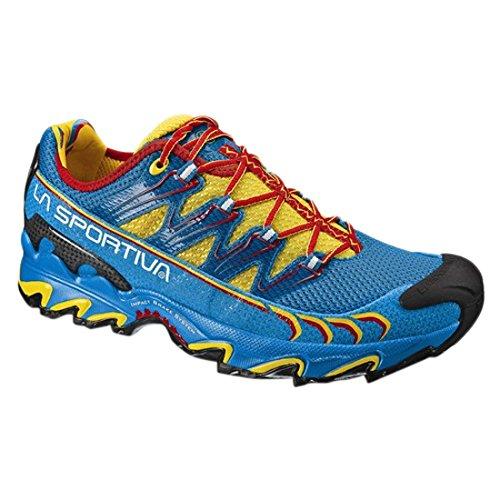La Sportiva Ultra Raptor - Deportivos de Running para Hombre, Color Amarillo/Azul, Talla 36: Amazon.es: Zapatos y complementos