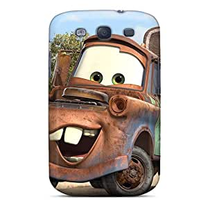Scratch Protection Hard Phone Case For Samsung Galaxy S3 (fMj4179IeYF) Allow Personal Design Colorful Tow Mater Pattern