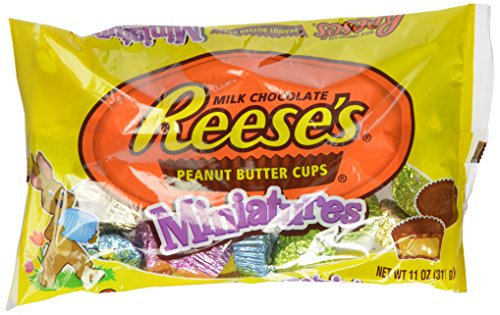 Reese's Easter Peanut Butter Cup Miniatures, 11-Ounce Bags (Pack of 4)