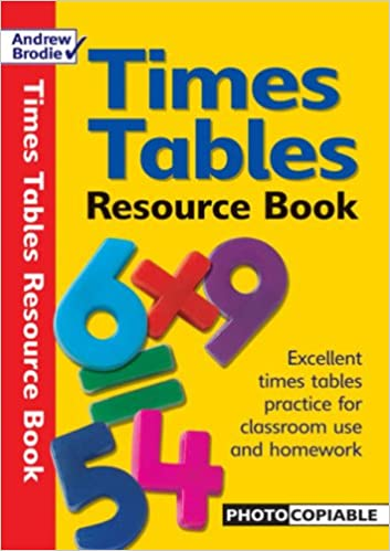 Times Tables Resource Book: Photocopiable Resource Book for Times ...