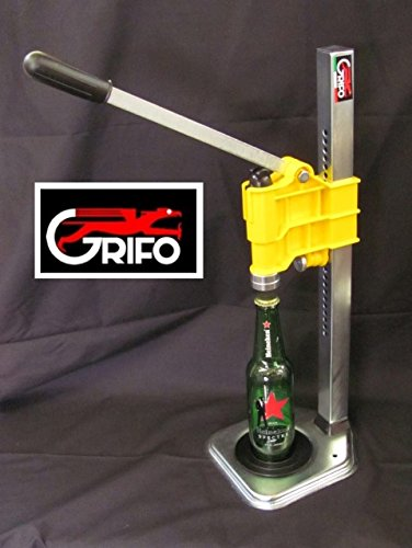 Amazon Com Sturdy Grifo Bench Capper Yellow For Bottling Homebrew