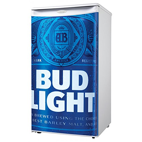 Danby Bud Light Logo Beer Compact Mini Mancave Bar Dorm Home Fridge Refrigerator