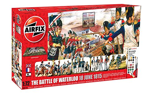 Airfix A50174 Battle of Waterloo 1:72 Military Diorama Plastic Model Gift - Stores Waterloo