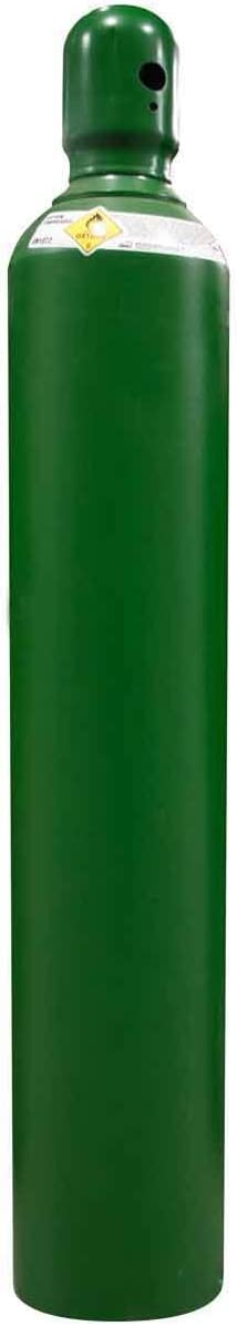125 cu/ft Oxygen Welding Gas Cylinder Tank CGA 540 - FULL
