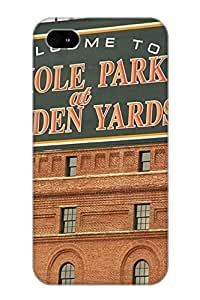 Crooningrose Durable Defender Case For Iphone 4/4s Tpu Cover(Baltimore Orioles Park At Camden Yards) Best Gift Choice