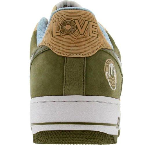 Nike Air Force 1 07 Low Premium Kool Bob Love 3 suede pilgrim ice blue Size 9.5 US by NIKE (Image #3)