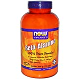 Now Foods Beta-Alanine - 500 g (17.6 oz.) 6 Pack