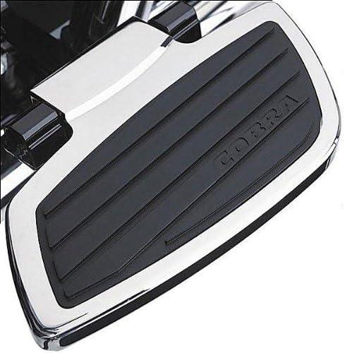 Cobra Classic Chrome  Passenger Floorboards 06-4765