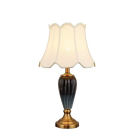 & Luz para Leer Lámpara de Mesa Post-Moderna Dormitorio Horno ...