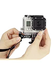 Accesorios del CamKix GoPro Bundle para Hero 4, Negro, Plateado, Hero + LCD, 3 +, 3, 2, 1 naranja
