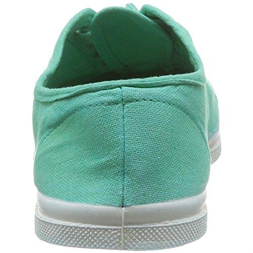 Bensimon Tennis Lacets, Baskets Femme Vert (Vert Menthe)