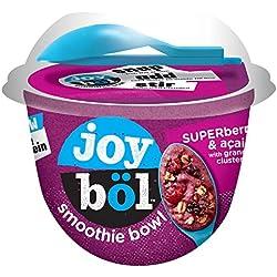 joyböl Smoothie Bowls, Superberries and Açai, Easy Breakfast, Non-GMO, 4 Count