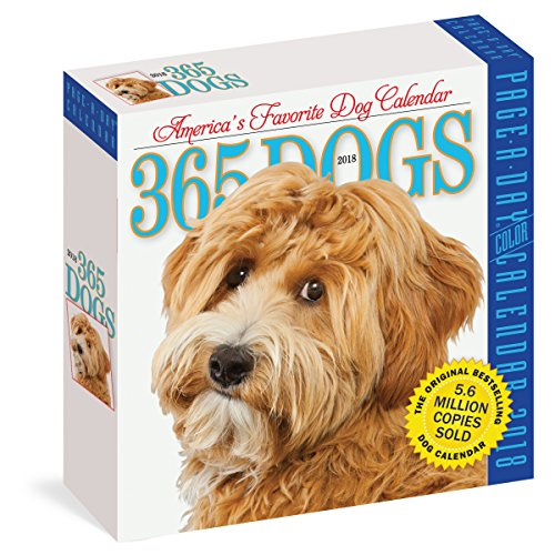 365 Dogs Page-A-Day Calendar 2018 (Care Pet Day)