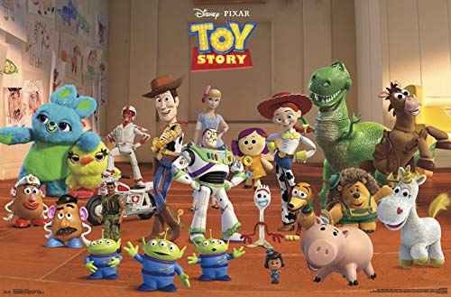 Trends International Toy Story 4 - Collage Wall Poster, 22.375