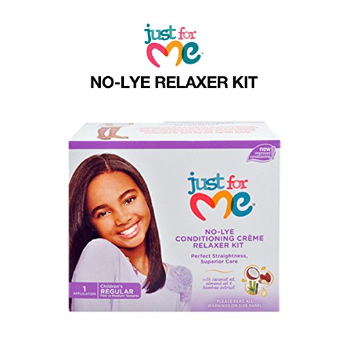 Soft & Beautiful Just for Me Relaxer, No-Lye Conditioning Creme, Children's Regular ()