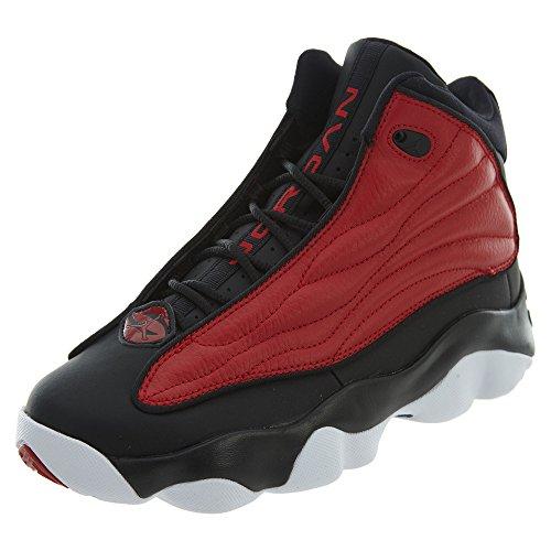 Grade School Jordan Pro Strong BG Basketball Shoes Gym Red/Black/White (4.5 D(M) US Big Kid) by NIKE