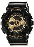 Casio Baby-G BA-110 Black Metallic Gold (BA-110-1ADR)