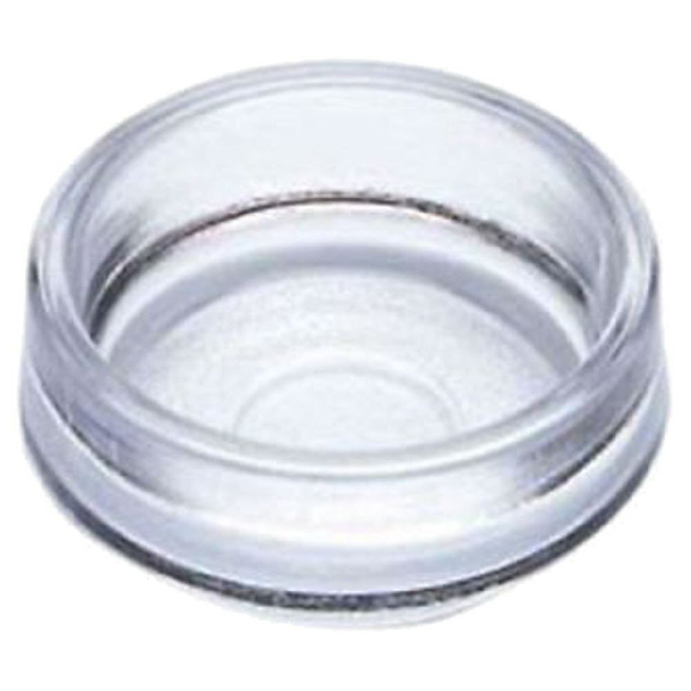 4 x 45mm Clear Medium Castor Cups Bamford