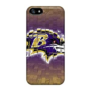 Iphone 5/5s Fro12121phIg Allow Personal Design Attractive Baltimore Ravens Skin Shock Absorbent Hard Phone Cover -SherieHallborg