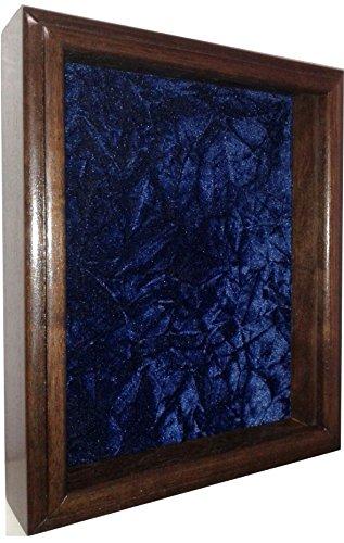 Heart Military Medal (Single or Double Medal Awards Display Case (Blue Velvet))