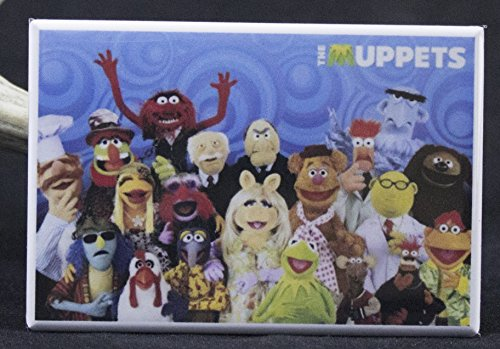 The Muppet's Refrigerator Magnet. -