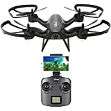 Kingspinner Drone,Gteng T905HW Wifi FPV 720P Camera 2.4G 6 Axis Gyro 3D Flip Headless Altitude Hold RC Quadcopter LED Light For Night Tracking, Flight Time: About 10min