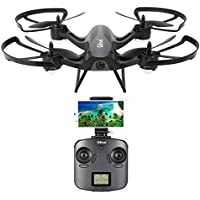 Goolsky Gteng T905HW Drone,Foutou Wifi FPV 720P Camera 2.4G 6 Axis Gyro 3D Flip Headless Altitude Hold RC Quadcopter Black