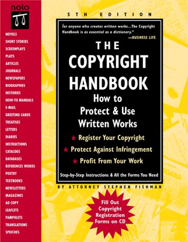 Read Online The Copyright Handbook: How to Protect & Use Written Works PDF