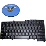 HQRP Keyboard for Dell Inspiron 1501 / 6400 / 9400 Laptop / Notebook Replacement plus HQRP Coaster
