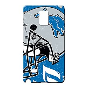 samsung note 4 cases Colorful phone Hard Cases With Fashion Design mobile phone back case detroit lions nfl football