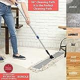 "JINCLEAN 36"" Industrial Class Cotton Floor Dust Mop"
