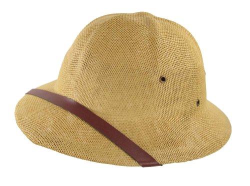 d8a6820c92123 Jual Jacobson Hat Company Khaki Pith Helmet Sun Safari Hat ...