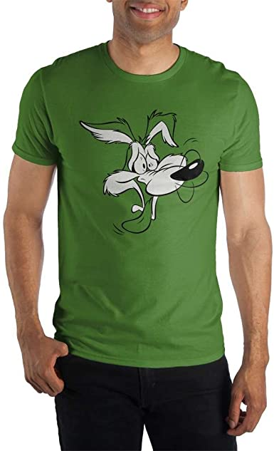 S-XXL Coyote Officially Licensed Looney Tunes Genius Men/'s T-Shirt Wile E