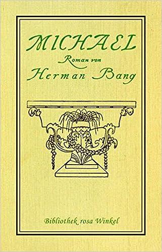 Herman Bang: Michael; schwule Bücher alphabetisch nach Titeln