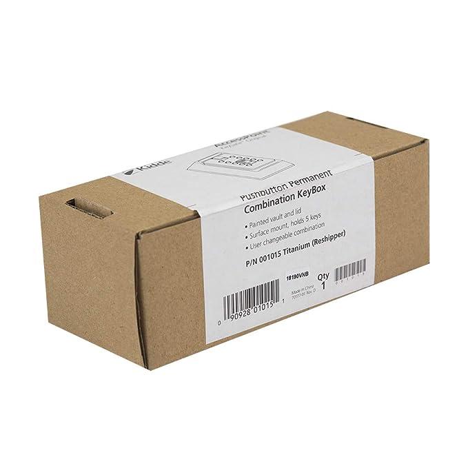 Kidde AccessPoint 001170 - Sistema de cerradura con botón de presión de combinación de seguridad, 2 llaves, color gris titanio, 001015: Amazon.es: Bricolaje ...