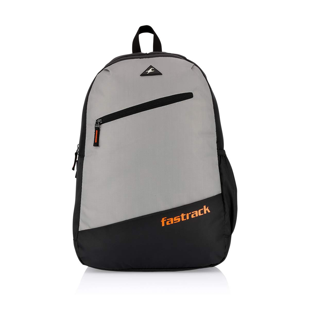 Fastrack 25 Ltrs Polyester Grey School Backpack