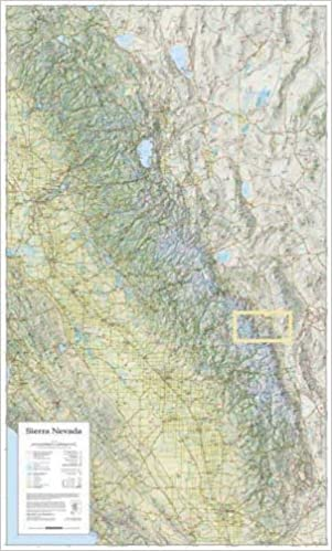 Sierra Nevada Wall Map: Imus Geographics: Amazon.com: Books on taliban map, iso map, sonar map, gas map, ice map, mcc map, malaysia map, mis map, ssc map, infrared map, al-qaeda map, ip map, npa map, usmc map,