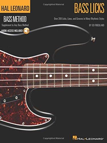 Bass Licks - Hal Leonard Bass Method Supplement (Book/Audio) (Bass Guitar Licks)