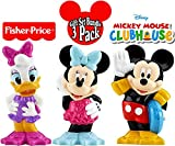 Fisher-Price Disney Mickey Mouse Clubhouse Bath Squirters Mickey, Minnie & Daisy Gift Set Bundle - 3 Pack