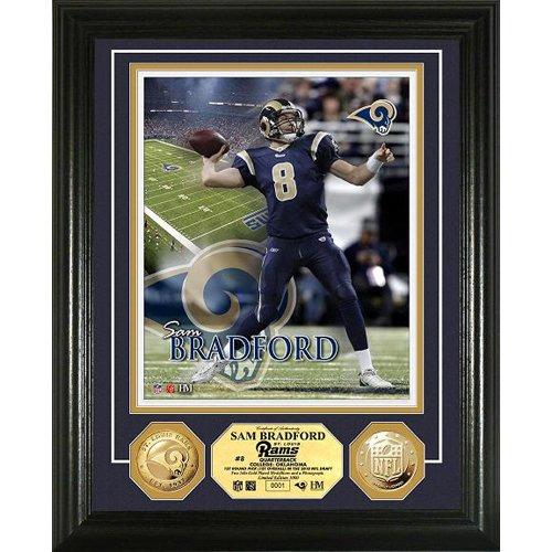 UPC 633204739348, Sam Bradford 24K Gold Coin Photo Mint