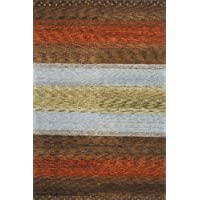 Momeni Rugs DEGABDG-02MTI2680 Desert Gabbeh Collection, 100% Wool Hand Knotted Contemporary Area Rug, 26 x 8 Runner, Multicolor