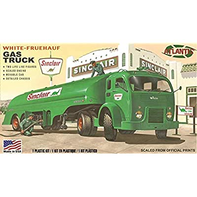 Vintage Gas Truck Plastic Model Kit 1/48 Atlantis Models: Toys & Games